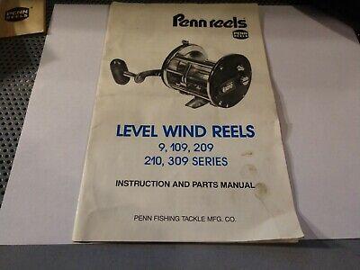 Penn reel repair parts  /& service click tongue  10, 035-155.
