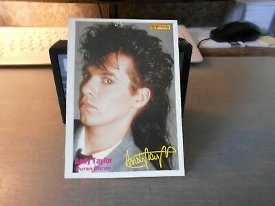 Andy Taylor (Duran Duran) ++ Pop / Rocky-Starkarte ++ Autogrammkarte ++ TOP ++ Rocky-star