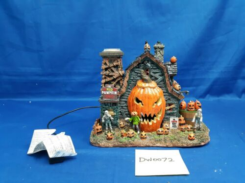 Lemax Spooky Town The Mad Pumpkin Patch #75172 As-Is DW0072