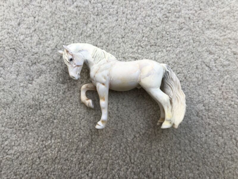 NICE Custom CM Breyer Horse Stablemate Unpainted Customized Belgian Body G3