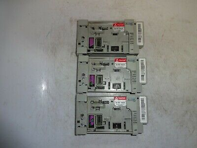 Lot Of 3 Allen Bradley 1764-lsp Micrologix 1500 Processor Tested - No Covers