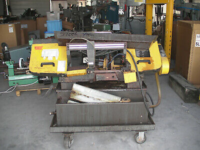 011 Horizontal Metal Band Saw With Cooland Pump And Dolly