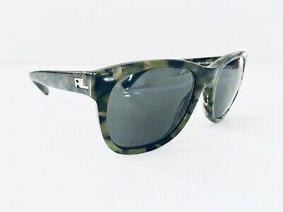 Ralph Lauren Green Tortoise Wayfarer Sunglass Made In Italy RL 'The (Ralph Lauren Wayfarer)
