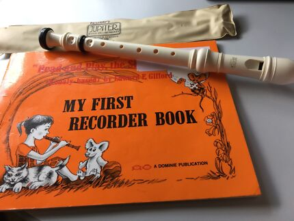 Recorder and My First Recorder Book