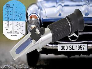 Refraktometer Frostschutz Scheibenwasser Batteriesäure AdBlue KfZ Glykol PKW