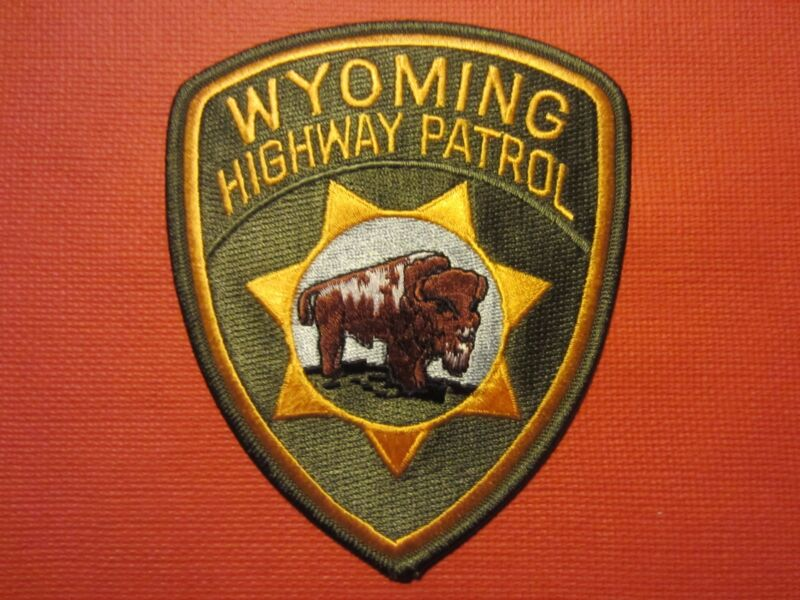 Collectible Wyoming Highway Patrol Patch, New