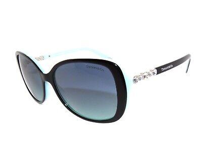 d666dd738b27 Tiffany   Co TF4121B 4121 8055 9S Black Blue Gradient Sunglasses