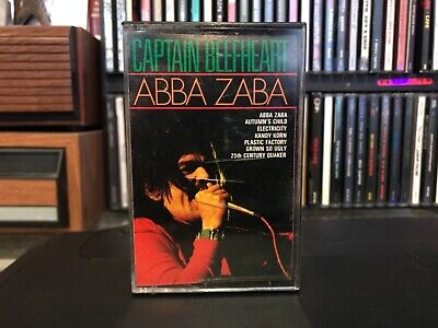Captain Beefheart Abba Zaba Cassette Holland / Italy