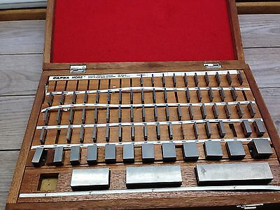 Nice Dapra Hoke Carbide Gage Block Set .050 - 4 Grade 1