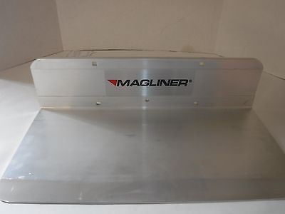 New Solid Aluminum Magliner Hand Truck Nose Plate 18 X 9p