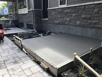 CONCRETE SHED PADS,HOTTUB PADS & MORE