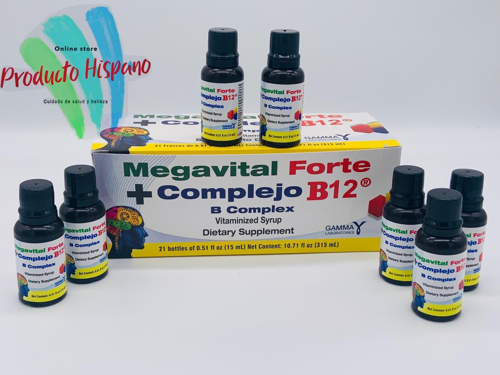 MEGAVITAL + COMPLEX B12 FORTE  21 DRINKABLE