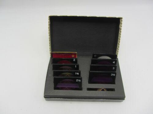 Beseler Polycontrast Filter Kit No. 411A 7 Filter Set w/ Box