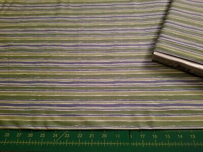Oh Boy Stripes - Oh Boy * Free Spirit * DW33 Green * NEW QUILT COTTON *BY THE HALF YARD * Stripes
