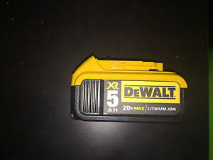 Dewalt 5AH 20v battery brand new