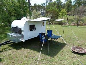 "Retro Tear Drop Styled Camper ""New"" Plainland Lockyer Valley Preview"