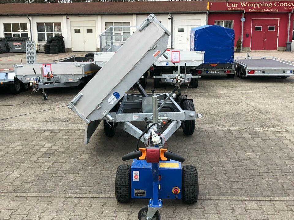 ⭐ Anhänger Eduard e-Kipper 3-Seiten 3000kg 311x160x30cm Rampen 63 in Schöneiche bei Berlin