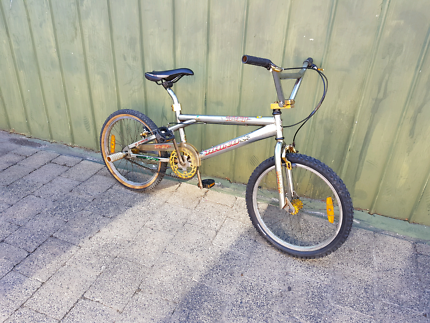Rhino bmx chrome bike 20inch bicycle mens boys