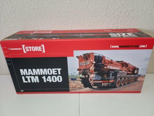 Liebherr LTM1400 Mobile Crane - Mammoet - YCC 1:50 Scale Model #YC790-3 New!