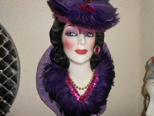 Clay Art USA Decorative Creamic Face Wall Mask Very Rare