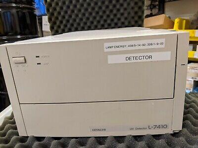 Hitachi L-7410 Hplc  Uv Detector Chromatography Lc Power