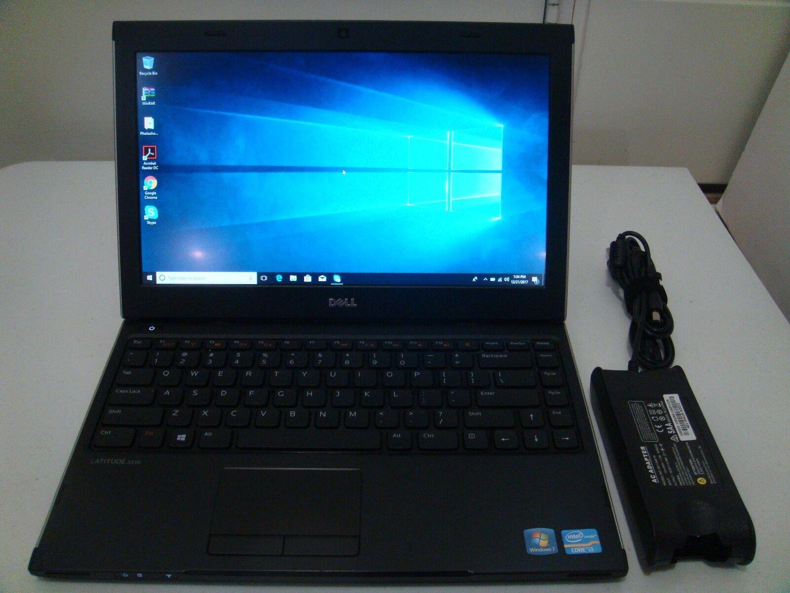Dell Latitude 3330 13.3in WIN 10 HOME (Core i3*320GB*4GB)WEBCAM*HDMI*AUT#112*NR*