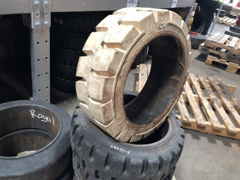 18x6x12 1/8 MITL Non Marking Press On Tire Forklift Tires NashLift