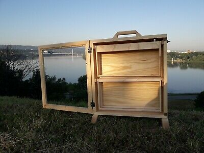 Observation Hive Bee Hive 4 Frame Observation Hive Apiary