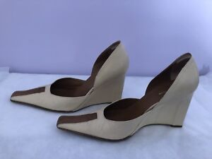 Authentic Maxazria Collection wedge heel/pump size 38