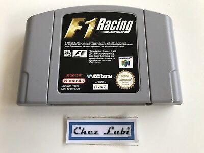 F1 Racing Championship - Nintendo 64 N64 - PAL EUR