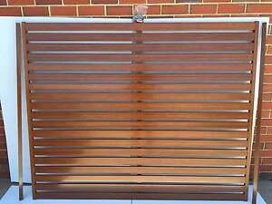 SLAT FENCING PANELS(WOOD, GREY & BLACK AVAIL) ALUMINIUM 1600X2000 Salisbury South Salisbury Area Preview