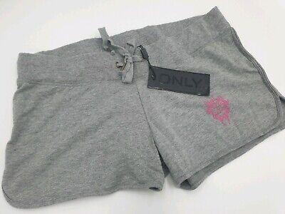 Champion Damen Shorts (ONLY Damen Shorts Sommer Hose Mary Champion Shorts Grau Melange Größe 40 L NEU)