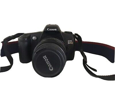 Canon Rebel EOS G 35mm Film Camera with 35-80mm zoom Lens