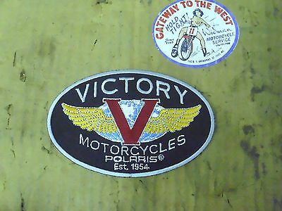 VICTORY # P2835930, TANK BADGE PATCH-SMALL (5