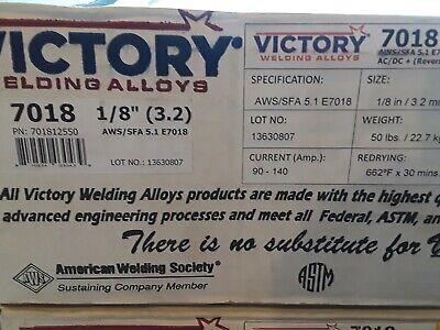 Victory 7018 18 Welding Rod.50lb. Box