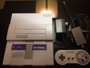 Snes bundle with 3 games / Super Nintendo