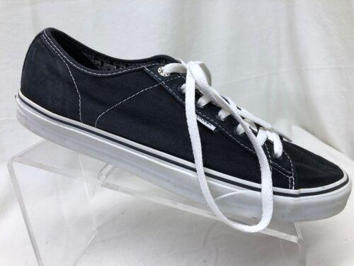 Vans Men's Black Canvas Shoes 13.          E2