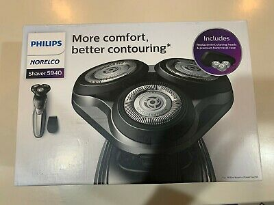 Philips Norelco, Wet Dry Shaver 5940, Precision Trimmer, with Replacement Heads