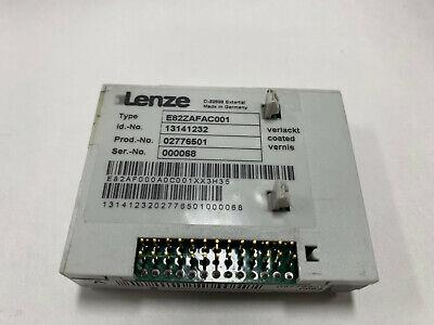 Lenze E82zafac001 Profibus Module Tested