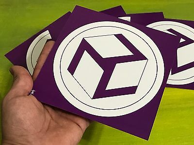 "5 símbolos Antahkarana (reiki) 6x6"" impreso ambos lados (femen-masc) 14pts / UV"