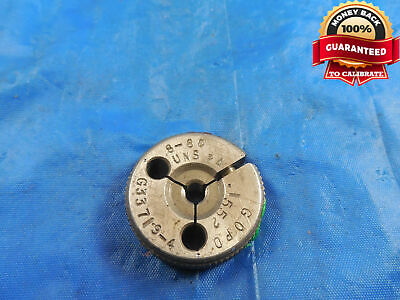 8 80 Uns 2a Thread Ring Gage 8 .164 Go Only P.d. .1552 8-80 Uns-2a Quality