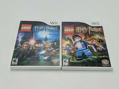 Lego Harry Potter Years 1-4 & Years 5-7 [Nintendo Wii]