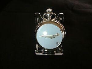 Acrylic pocket watch display stand .