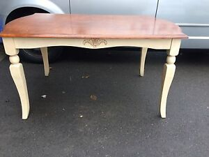 Solid wood table & 5 chairs