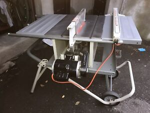 Table saw Rigid with Stand