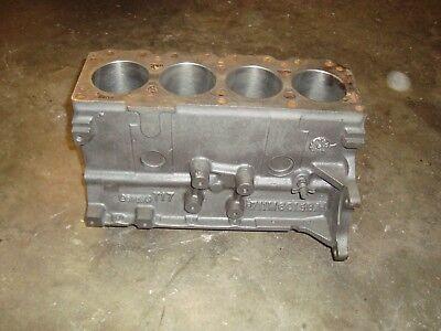 Ford 4 Cylinder Ksg416 Industrial Engine Block 1.6l 98cid Casting 711m6015ba