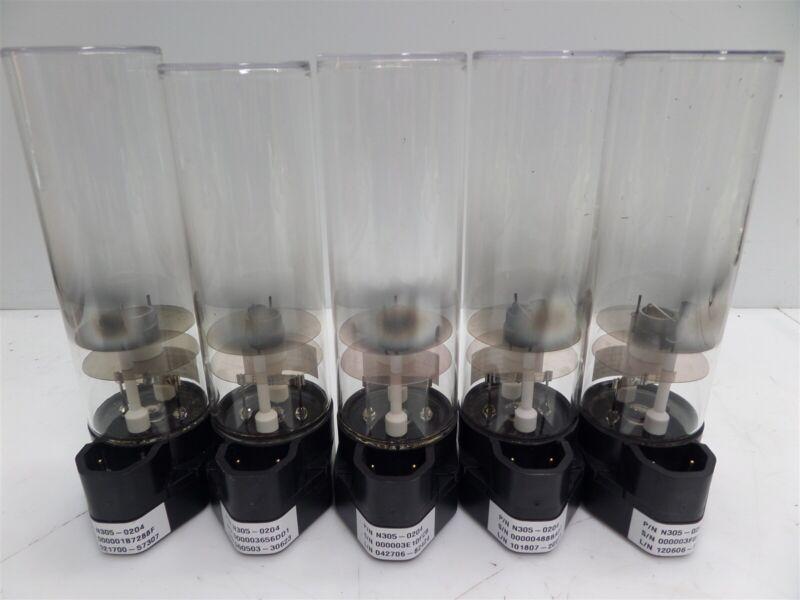 Lot of 5 - Perkin Elmer N305-0204 Lumina Hollow Cathode Lamp - K-Na - AS IS