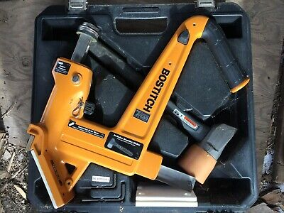 Bostitch Mfn201 Manual Hardwood Flooring Cleat Nailer Kit 12-34 Wood Mint