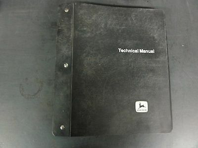 John Deere 4440 Tractor Revision Pages Tm-1182 Not Complete Manual
