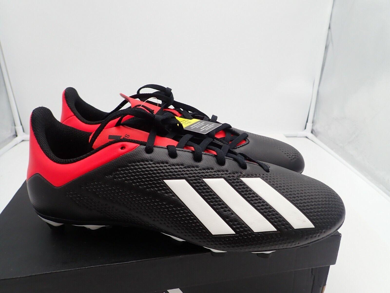 X 18.4 Firm Ground soccer shoe, Black